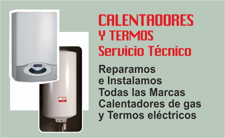 SERVICIO TECNICO CALENTADORES DE GAS