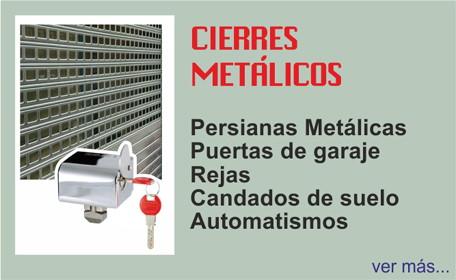 CIERRES METALICOS